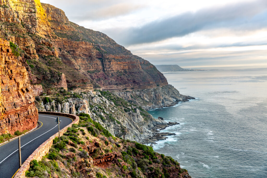 Chapman's Peak Drive in South Africa.