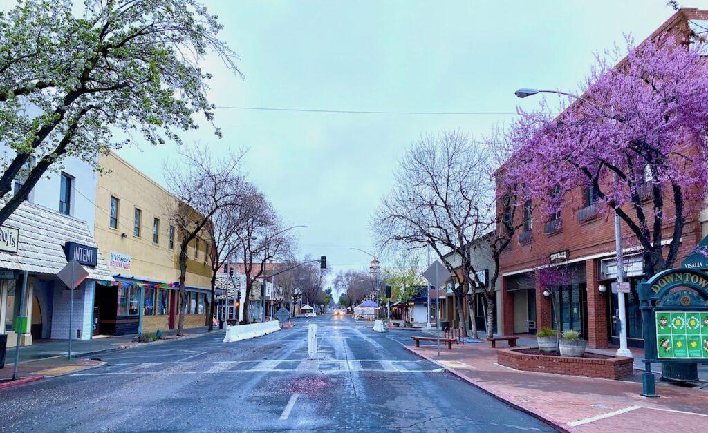 Charming downtown Visalia.