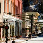 Charming town in Colorado