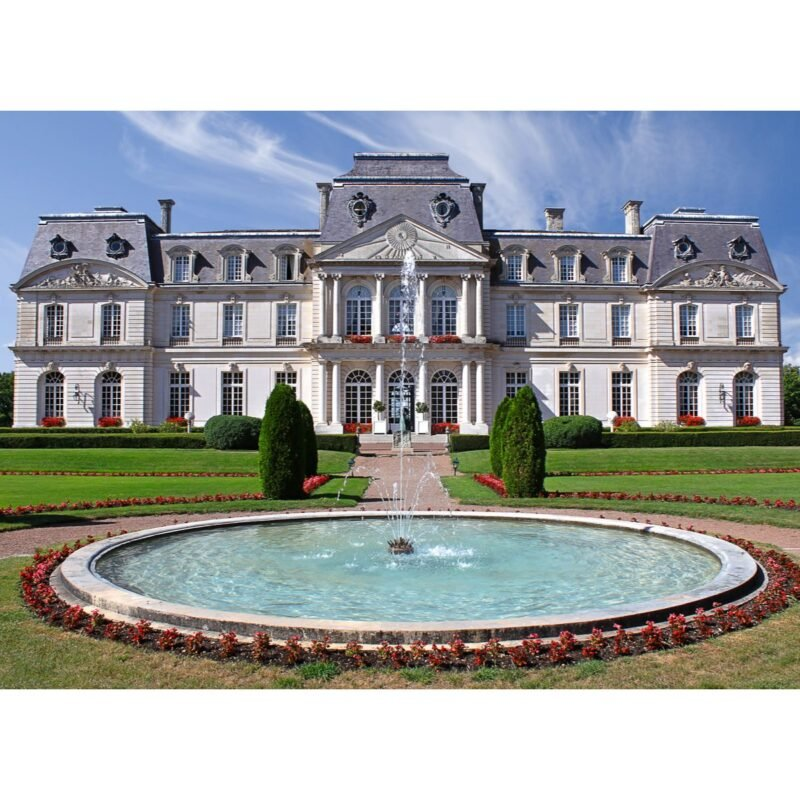 Chateau d'Artigny in the Loire Valley of France.