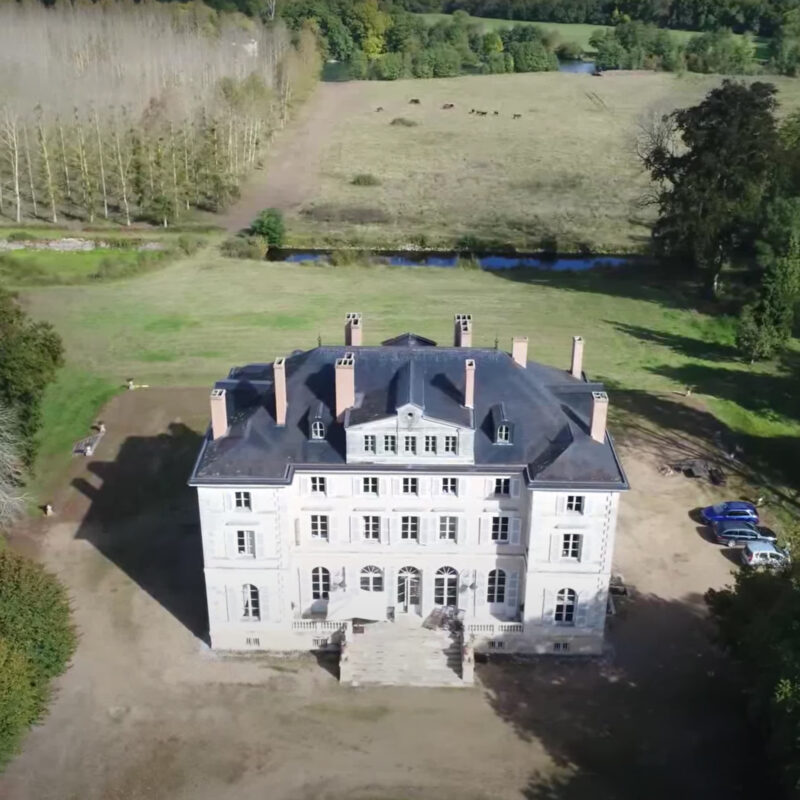 Chateau de Barbee in France.
