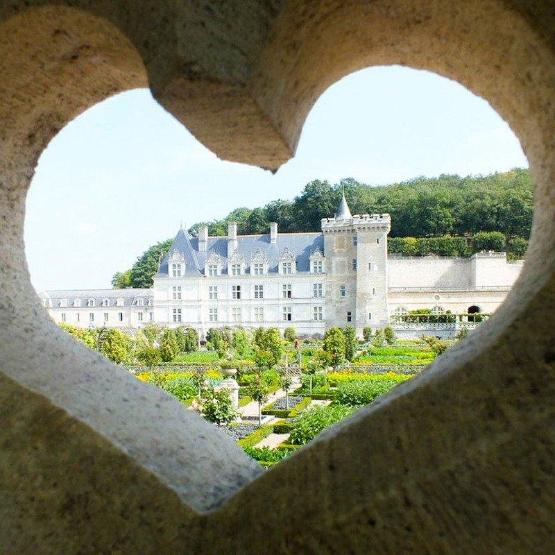 Chateau de Villandry, Loire Valley France