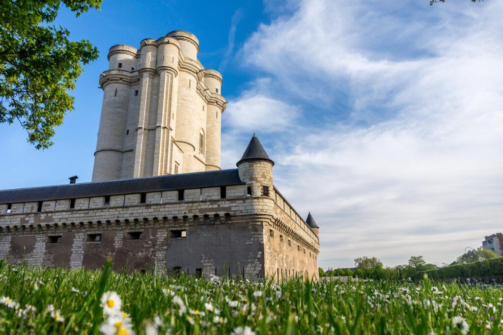 Chateau de Vincennes in Paris, France.