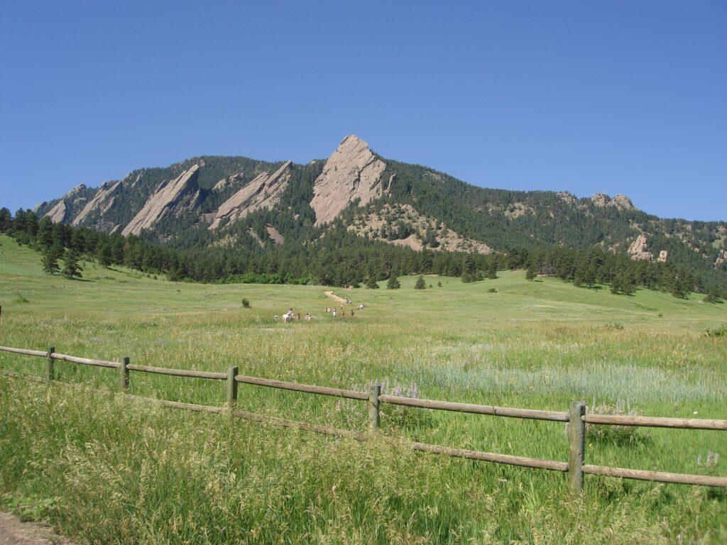Chautauqua Park in Boulder.
