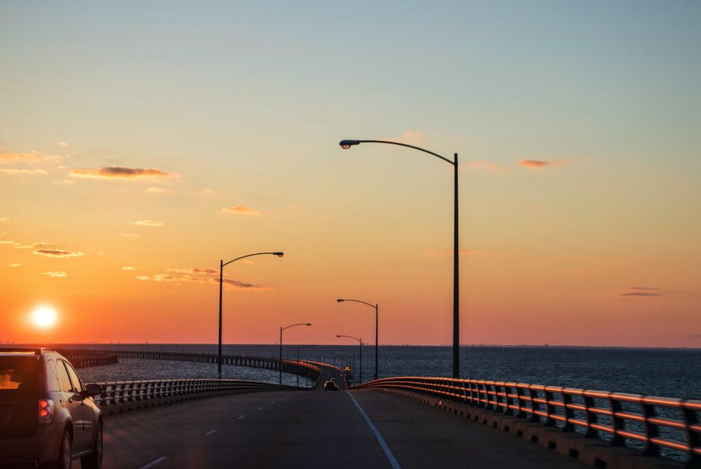 Chesapeake Bay Bridge-Tunnel, Virginia.