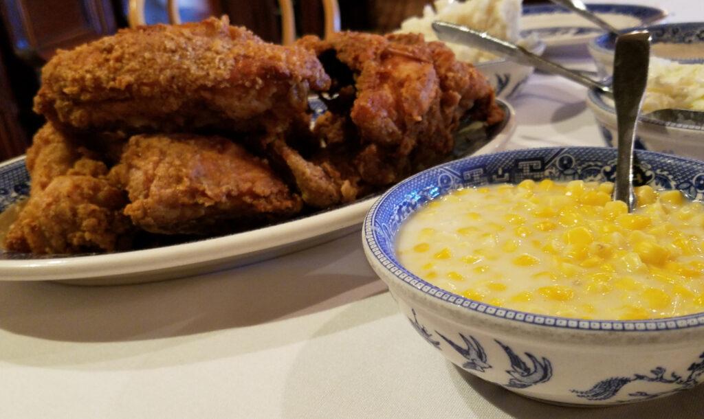 Chicken from Brookville Hotel.