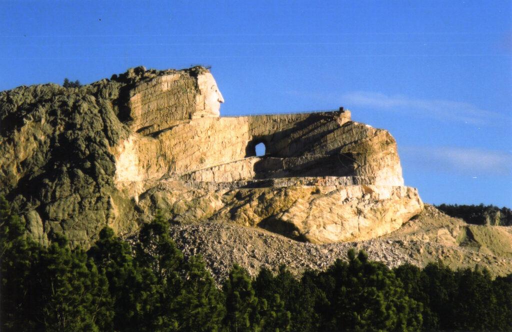 Chief Crazy Horse Memorial in South Dakota.