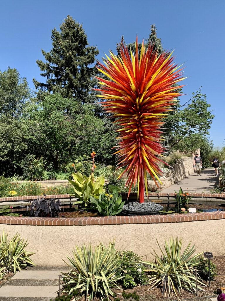 Chihuly Sculpture.