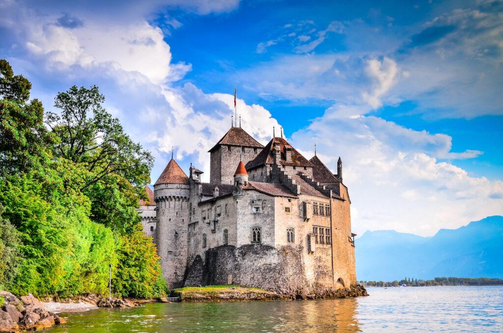 Chillon Castle in Switzerland.