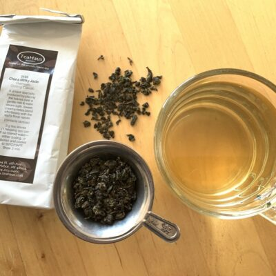 China Milky Jade, a tea from the Fujian Province.