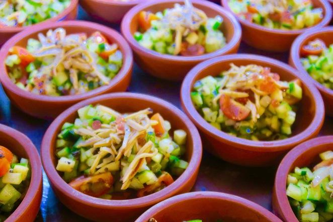 Chinese Baby Green Lip Abalone Salad.