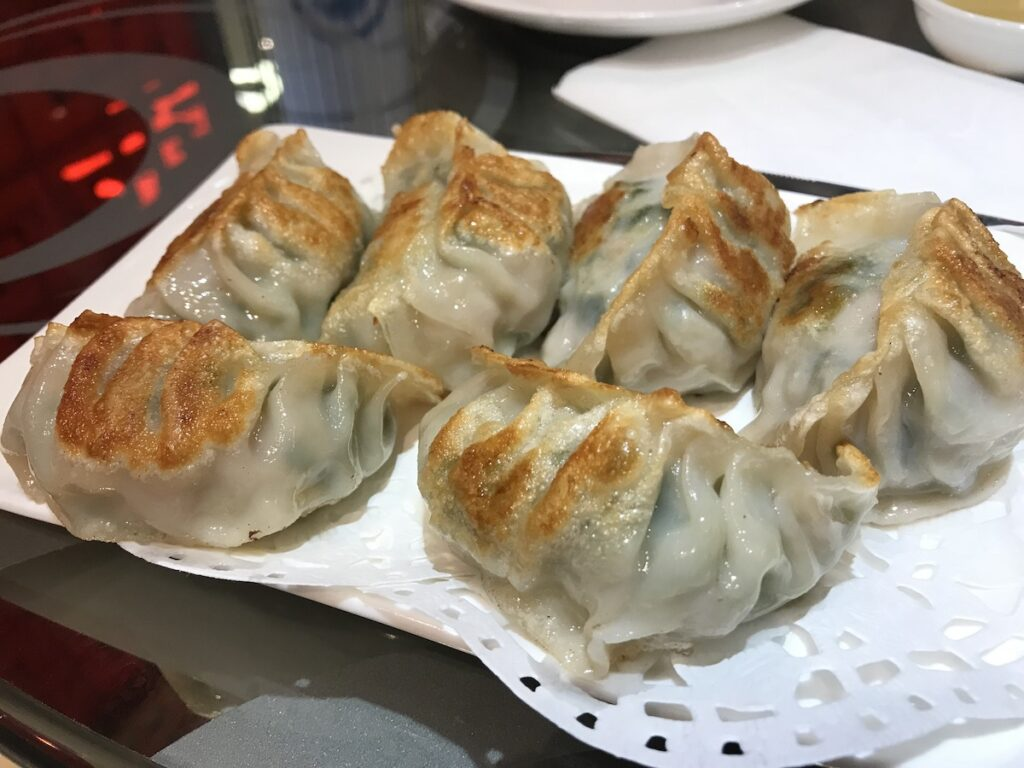 Chinese potstickers at Ming Hin in Chicago.