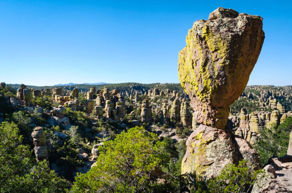 Chiricahua National Monument in Arizona.