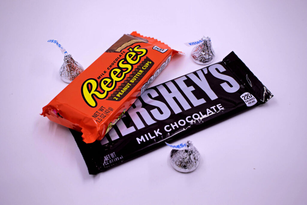 Chocolate from the Hershey Factory.