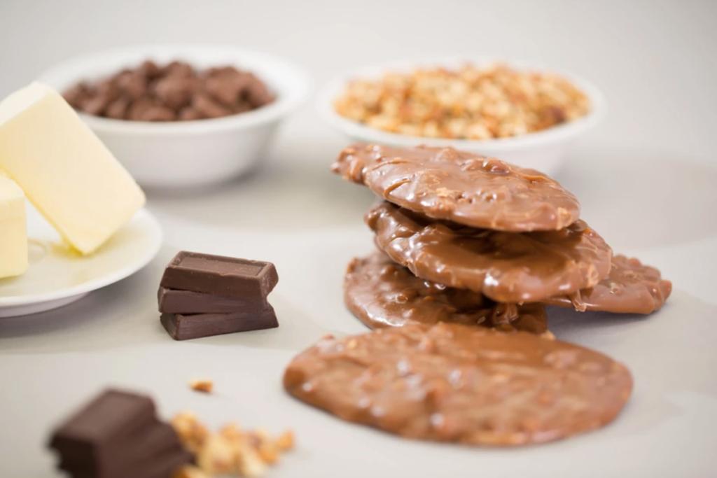 Chocolate pralines from Loretta's.
