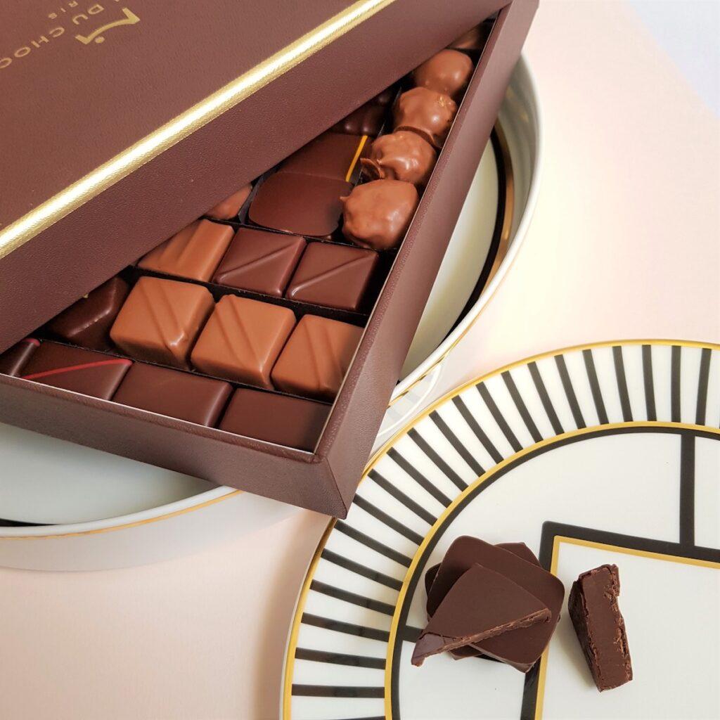 Chocolates from La Maison du Chocolat in France.