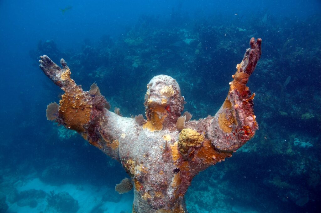 Christ of the Abyss in Key Largo, Florida.