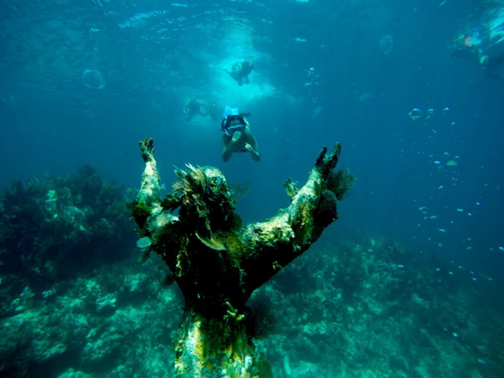 Christ Of The Abyss in Key Largo.