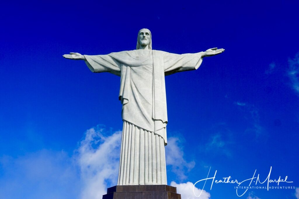 Christ The Redeemer statue in Rio de Janeiro.