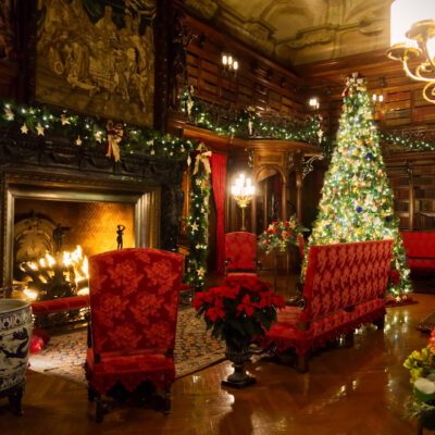 Christmas at the Biltmore Estate in Asheville, North Carolina.