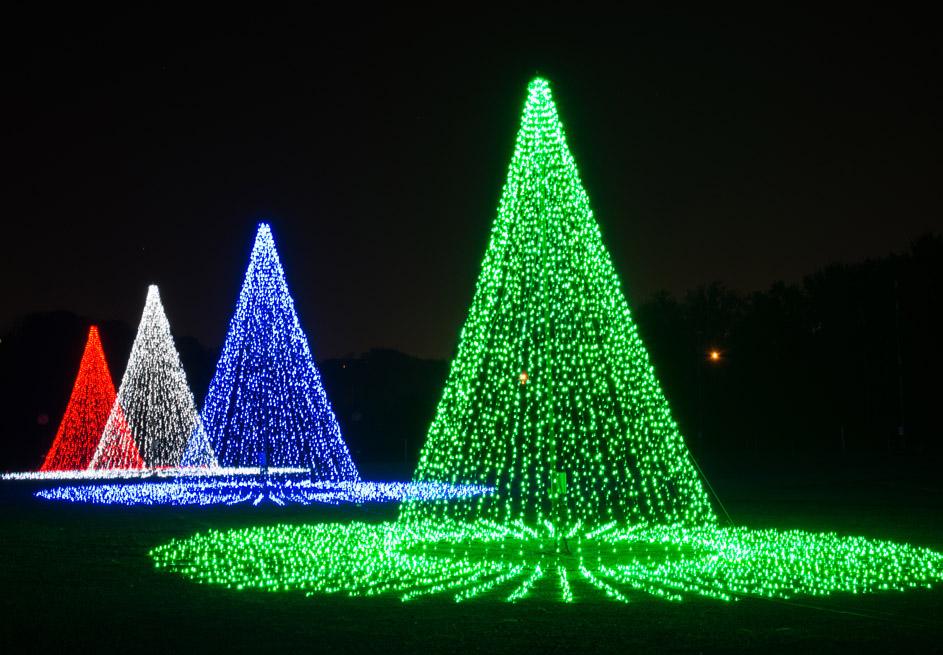 Christmas Night In Lights at Hank Aaron Stadium.