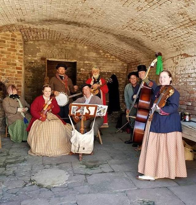 Christmas Through The Ages at Fort Gaines.