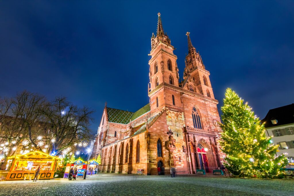 Christmas time in Basel, Switzerland.