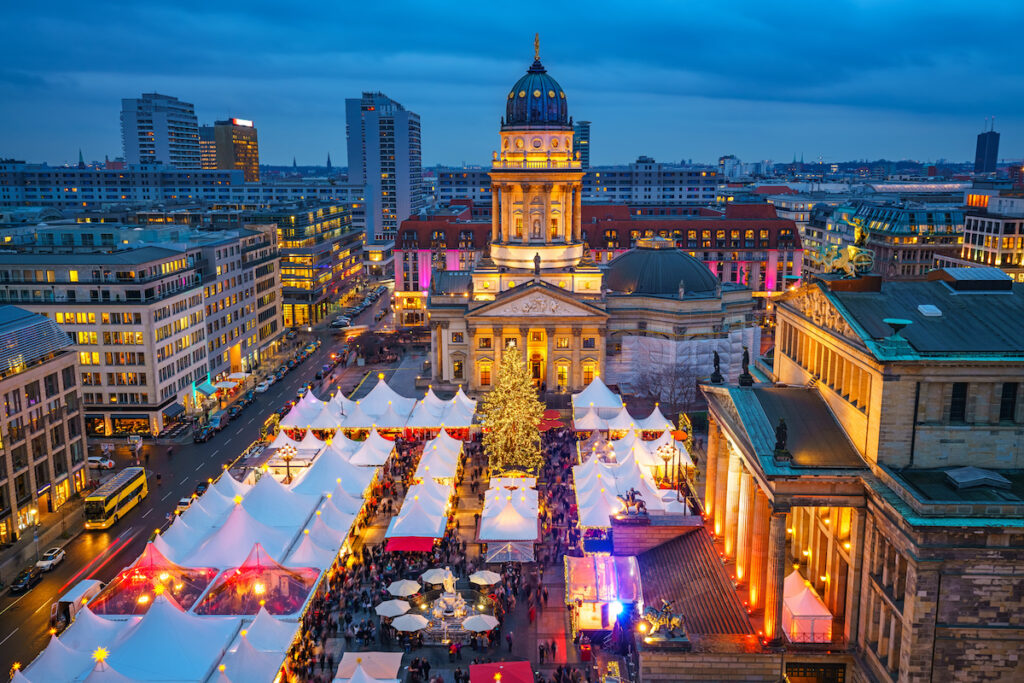 Christmas time in Berlin, Germany.