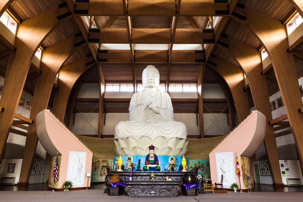 Chuang Yen Monastery in Carmel, New York.