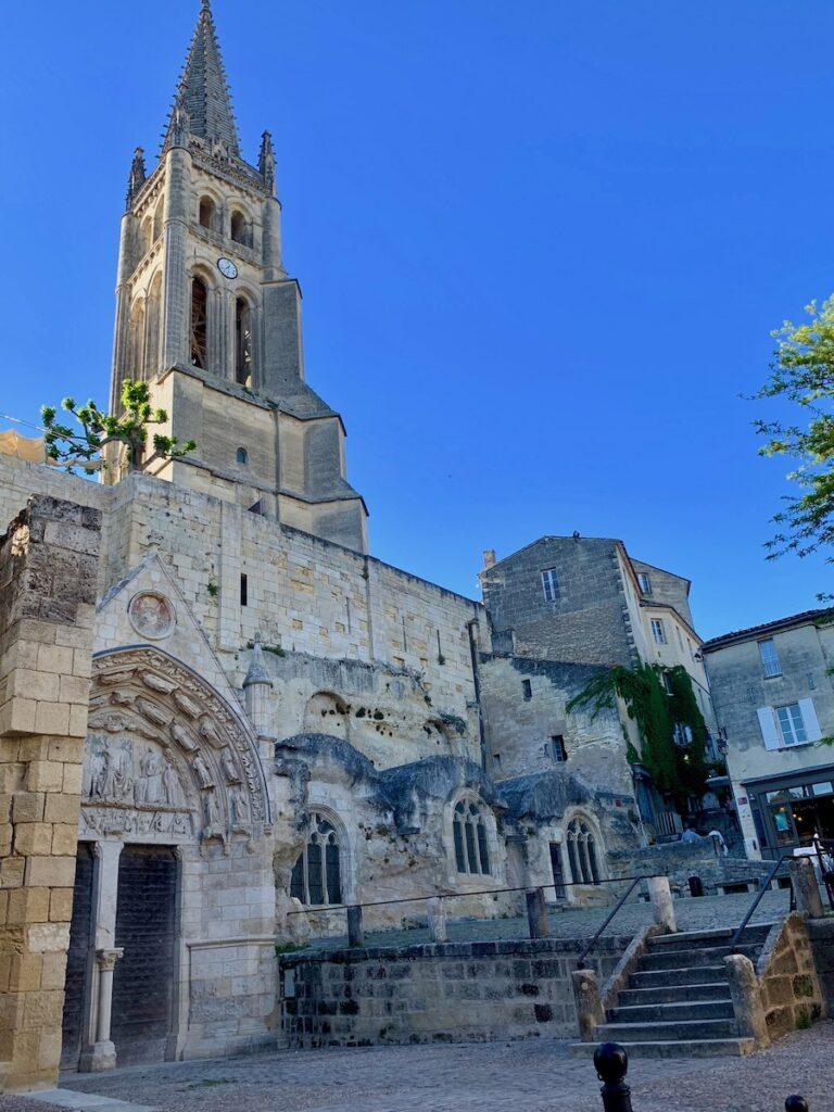 Church in Saint Emilion.