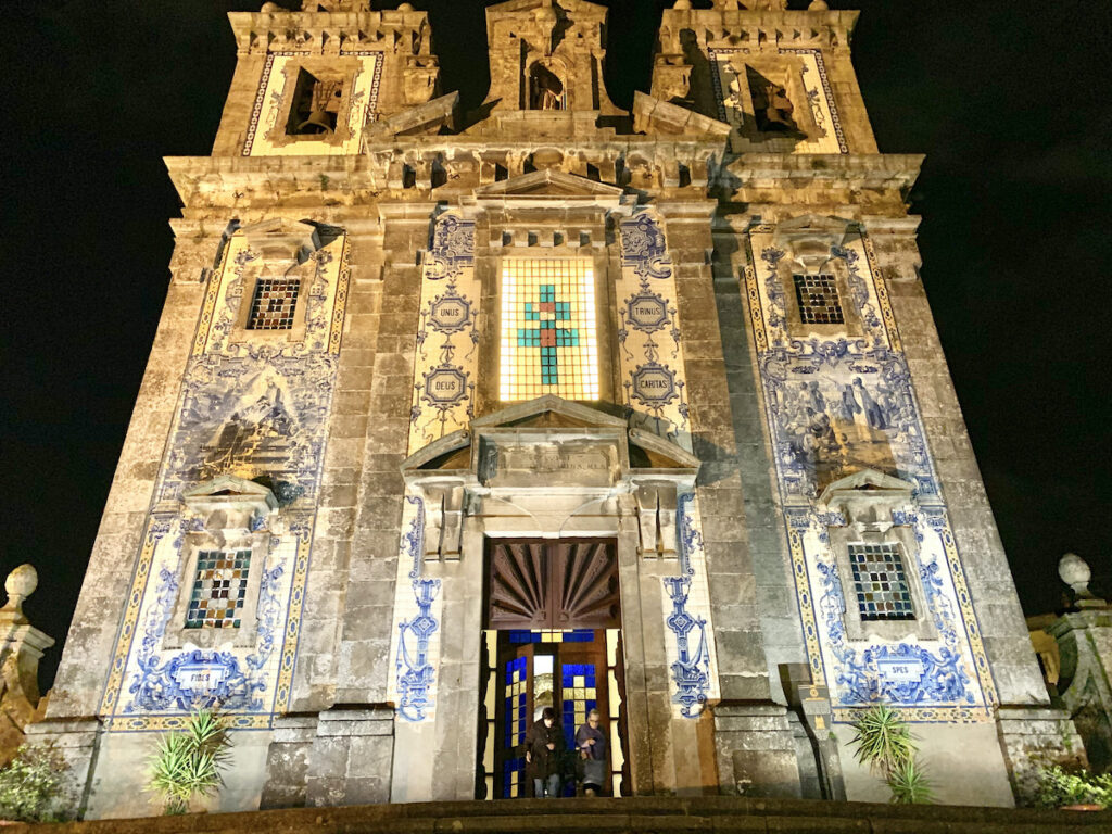 Church Santa Ildefonso in Porto, Portugal.