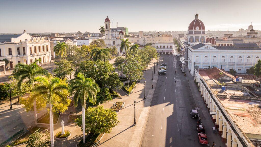 Cienfuegos in Cuba.
