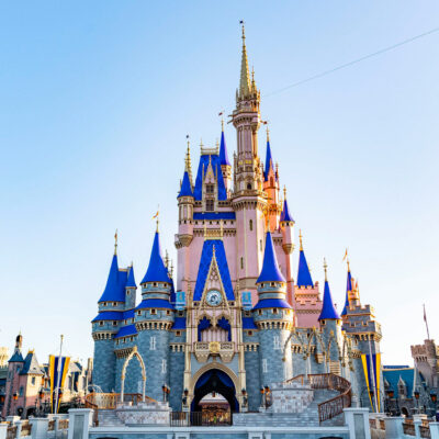 Cinderella's Castle at Disney's Magic Kingdom.