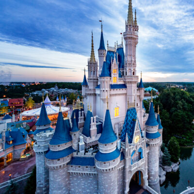 Cinderella's Castle at Walt Disney World Resort.