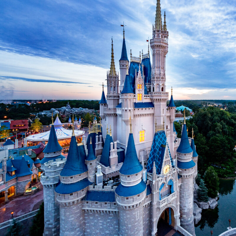 Cinderella's Castle at Walt Disney World Resort.