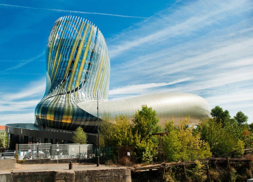 Cite du Vin, the wine museum in Bordeaux.