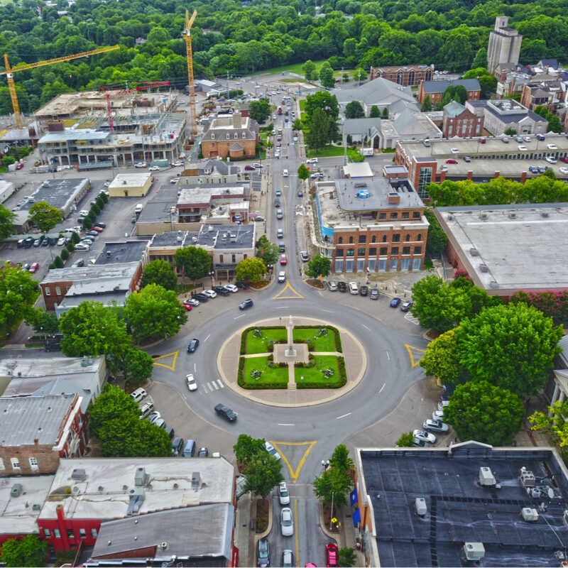 City Square, Franklin, Tennessee.