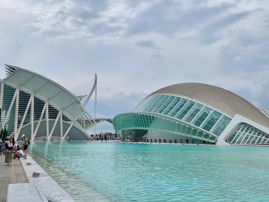 Ciudad de las Arts in Valencia.