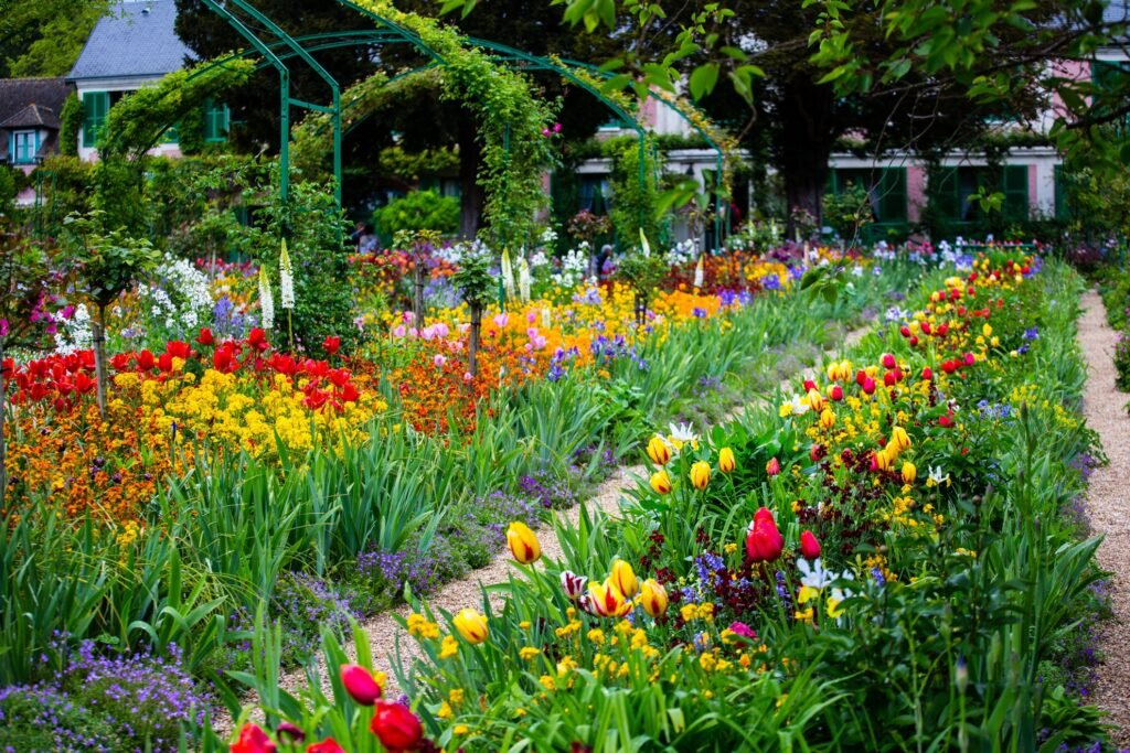 Claude Monet's house and gardens in Giverny.