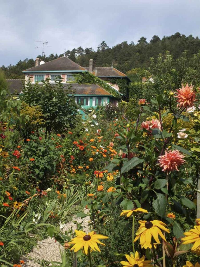 Claude Monet's Gardens in Giverny, France.