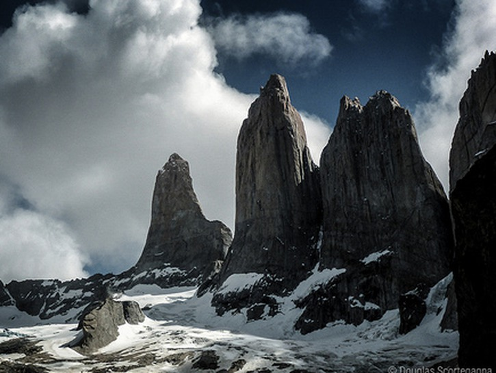 Cleopatra's Needles, mountain peaks of Torres del Paine National Park