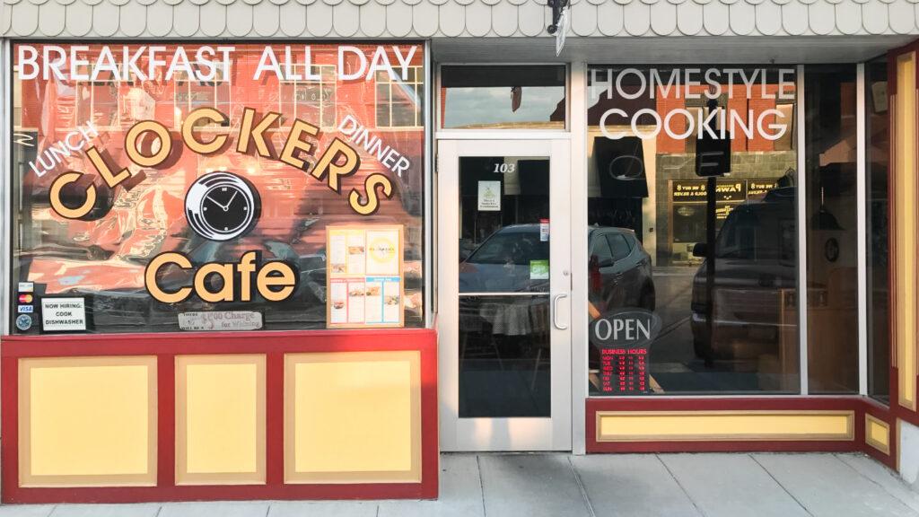 Clockers Cafe in Branson, Missouri.