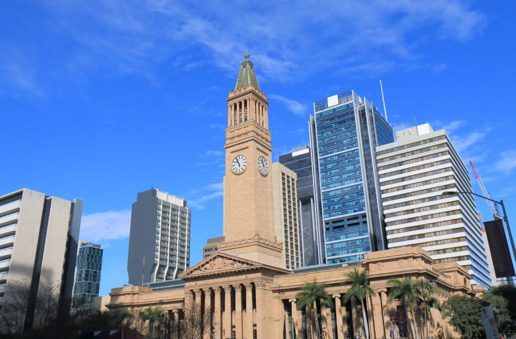 Clocktower at City Hall Museum of Brisbane