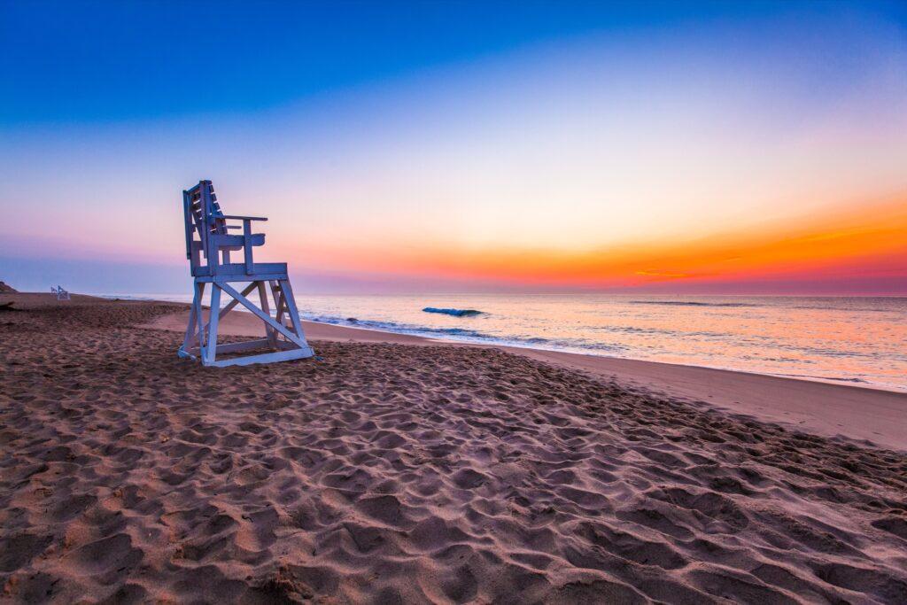 Coast Guard Beach in Massachusetts
