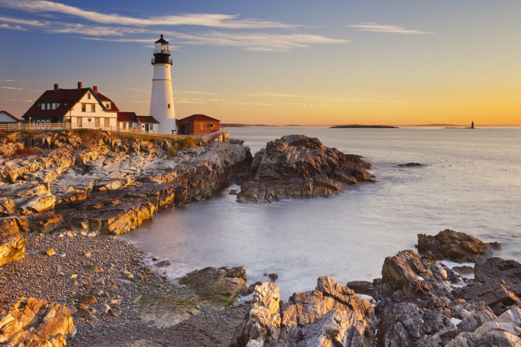 Coast of Portland, Maine