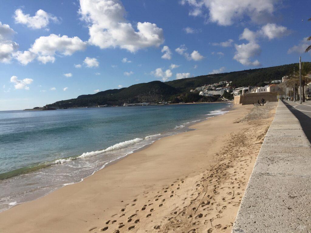Coastal southern Portugal.