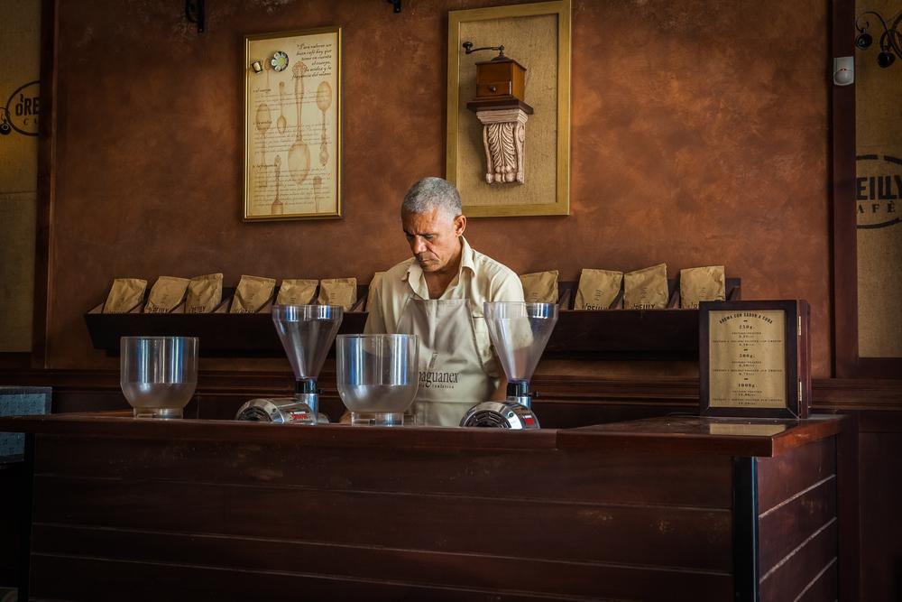 coffee shop in havana
