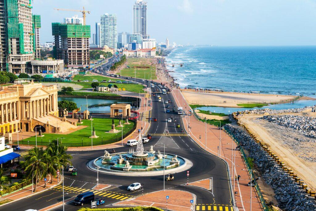 Colombo in Sri Lanka.