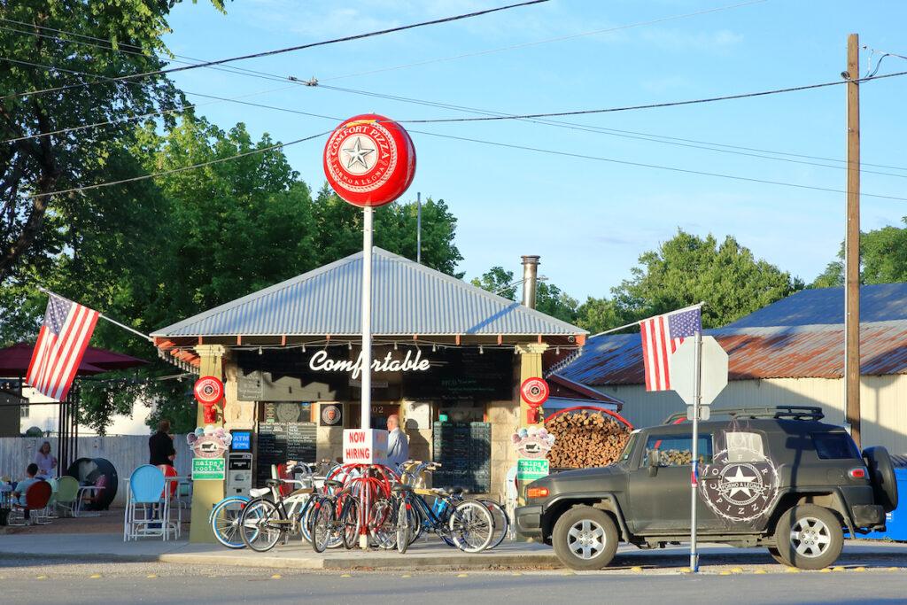 Comfort Pizza in Comfort, Texas.