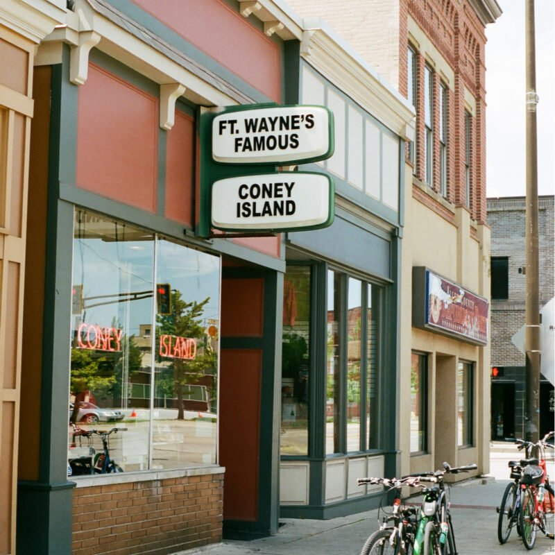Coney Island, a hole-in-the-wall restaurant in Fort Wayne, Indiana.